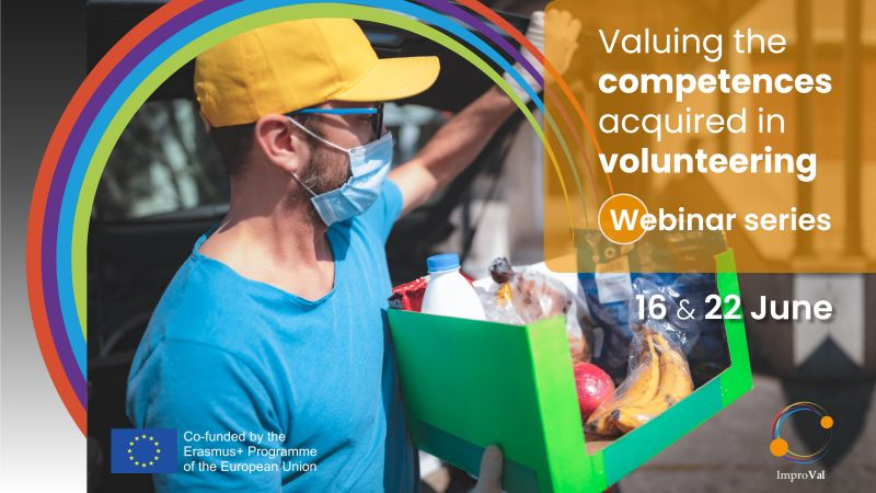 Webinar series: Valuing competences in volunteering!